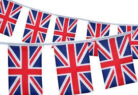 British Party Union Jack Rectangular Flag Bunting