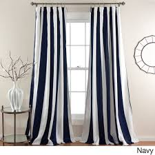 Lush Decor Window Curtains by Lush Decor Wilbur Blackout Window Curtain Panel Pair Free