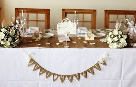 Incredible Wedding Top Table Decoration Ideas Decorations Uk Silver The