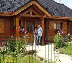 chalet maison en kit la maison en madrier non isolé de mr lamendin