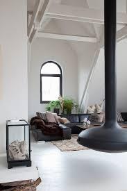 hängender kamin im wohnzimmer mit bild kaufen 13005889