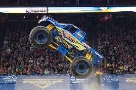 100 Monster Truck Show Anaheim Jam Crushes Through Angel Stadium Of Macaroni Kid