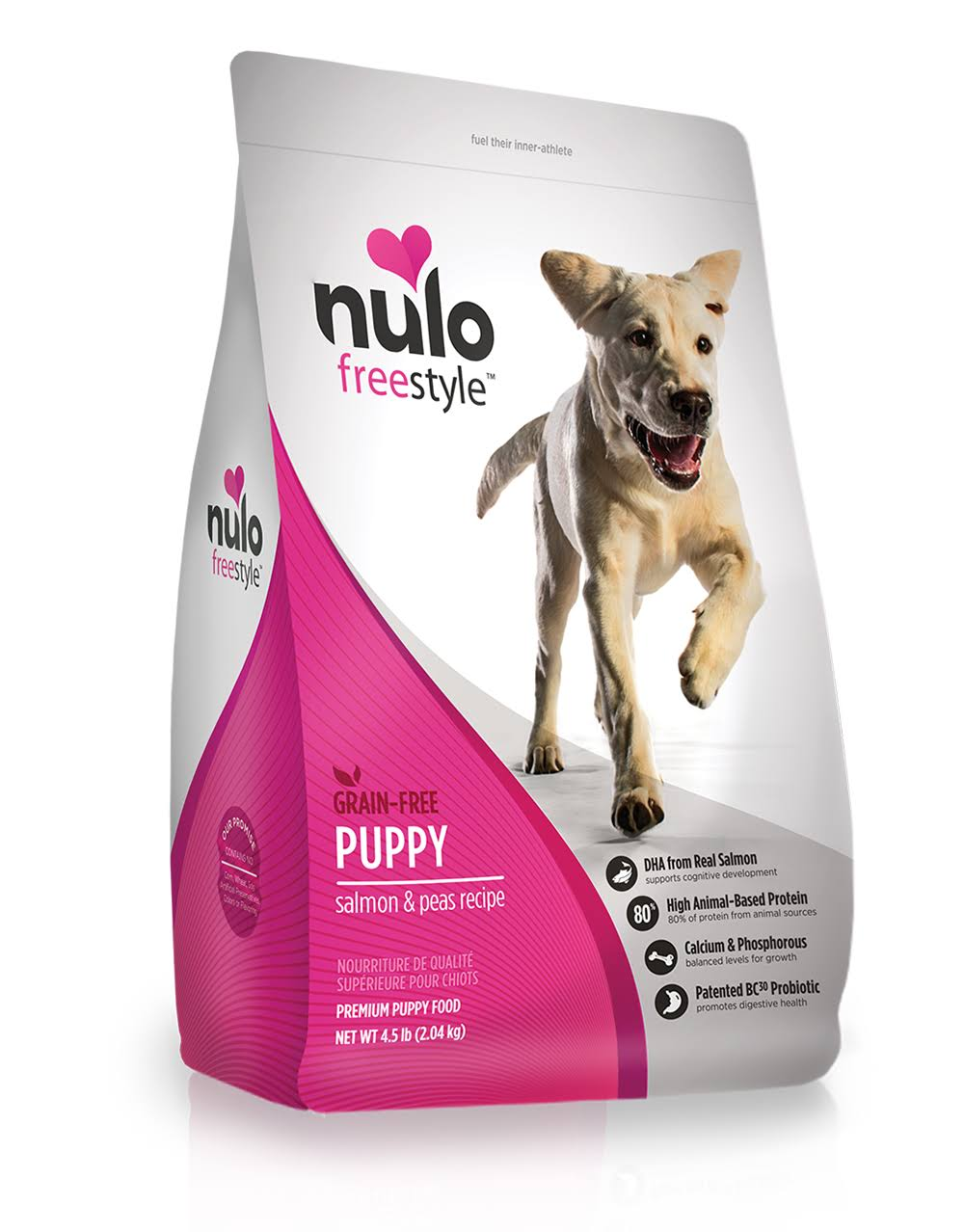 Nulo Freestyle Grain Free Dry Puppy Food - Salmon & Peas