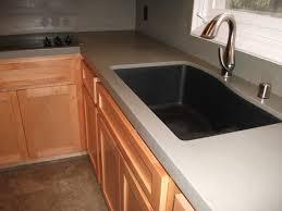 kitchen sinks one piece kitchen sink and countertop grey