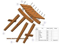 Free Wooden Folding Step Stool Plans by Useful Stool Plan