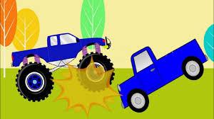 100 Blue Monster Truck For Children YouTube