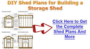 storage shed building plans 8x12 three techniques to construct a