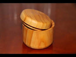 Woodturning Project Wooden Box On The Lathe