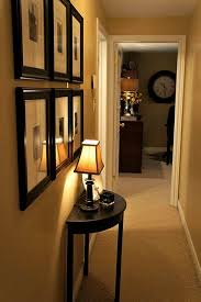 how to decorate a narrow hallway i would perfer a wall type