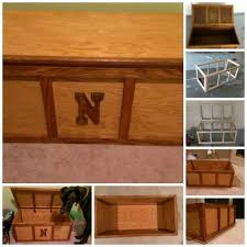 Wooden Toy Chest Instructions by Diy Toy Chest Storage Tutorial Diy Tag