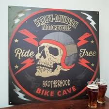 Car Garage Gas and Motorcycle Signs Available in Wood Metal and
