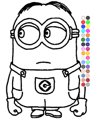 Coloring Pages Of Minion