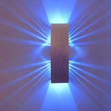 lighting ideas blue led light bulb in modern wall l for the