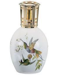 Lampe Berger Oils Toxic by Lampe Berger Blue Glass Fragrance Lamp Ebay Seller Is Asking