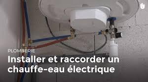 installer et raccorder un chauffe eau électrique bricolage