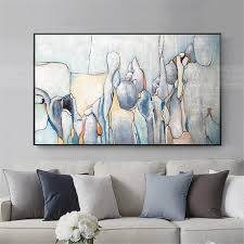 abstract painting acrylic canvas wall pictures for