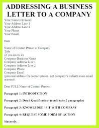 Addressing Business Letter Envelope How To Address A Letter