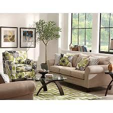 evan collection fabric furniture sets living rooms art van