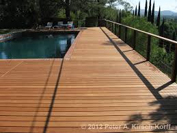 California Swimming Pool Deck With Cable Railing