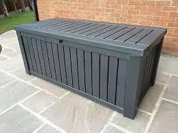 Plastic Garden Storage Bench Seat by Best 25 Plastic Garden Storage Box Ideas On Pinterest Plastic