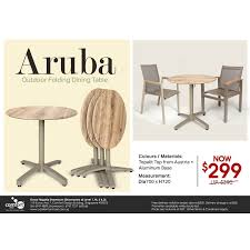 Aruba Outdoor Folding Dining Table – Dia700 | Comfort Design ... Panton Chair Promotion Set Of 4 Buy Sumo Top Products Online At Best Price Lazadacomph Cost U Lessoffice Fniture Malafniture Supplier Sports Folding With Fold Out Side Tabwhosale China Ami Dolphins Folding Chair Blogchaplincom Quest All Terrain Advantage Slatted Wood Wedding Antique Black Wfcslatab Adirondack Accent W Natural Finish Brown Direct Print Promo On Twitter We Were Pleased To Help With Carrying Bag Eames Kids Plastic Wooden Leg Eiffel Child