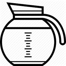 Coffee Espresso Ground Jug Pot Icon