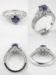 Best 25 Antique Sapphire Engagement Rings Ideas On Pinterest Vintage
