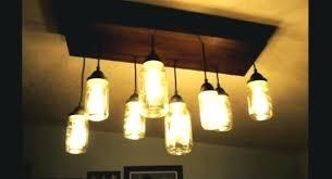 mason jar light fixture – britvaub