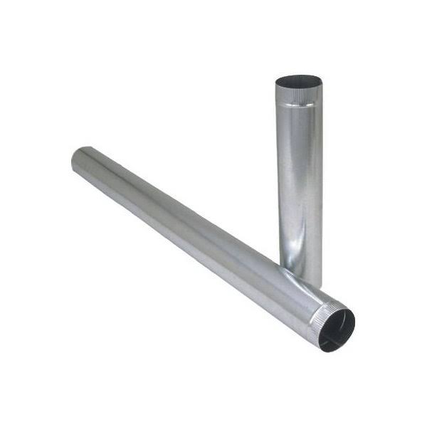 Imperial 6 x 24in Galvanized Steel Pipe
