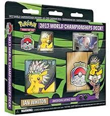 amazon com 2013 pokemon world chionship deck ian whiton