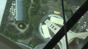 Seattles Space Needle Gets See Through Revolving Floor