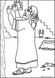 Zacchaeus Flip Chart For Coloring Page