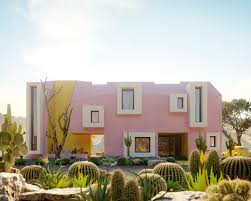 100 Desert House Design Architects Design Sonora Playing With Vivid Colours