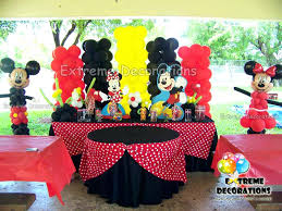 Fascinating Mickey Mouse Party Decoration Mickey And Balloon