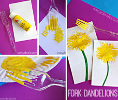 Make Dandelions With A Fork