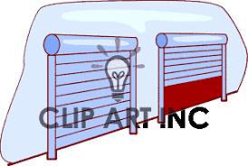 Storage Building Clipart 1