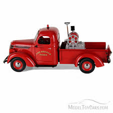 100 Model Fire Trucks 1938 Dispatch Patrol International D2 Pickup Truck With Brush