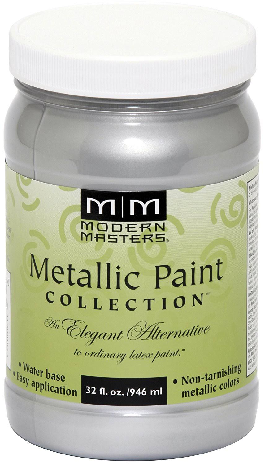 Modern Masters Metallic Paint Collection - Silver, 946ml