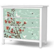 creatisto möbelfolie selbstklebend passend für ikea hemnes kommode 3 schubladen i möbeldeko möbel aufkleber folie i wohndeko für esszimmer