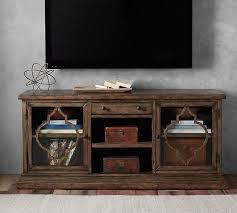 Brilliant Rustic Media Console Regarding Crafters And Weavers In