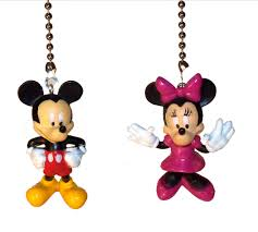 mickey mouse clubhouse ceiling fan light pull nursery decor kids