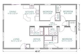 100 1000 Square Foot Homes House Plans Ranch Outstanding Floor Plan For