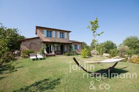 Charming Tuscan Country House For Sale With Garden And Small Olive Grove