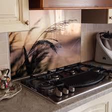küchenrückwand spritzschutz küche gehärtetes glas fuchs