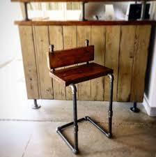 Industrial Pipe Chair - Lazy Guy DIY