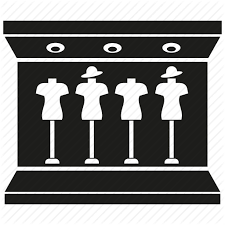 Fashion Shop Showcase Store Icon