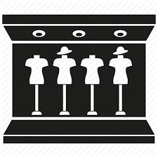 Fashion Shop Showcase Store Icon