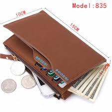 coin bag zipper new 2017 men wallets famous brand mens wallet male