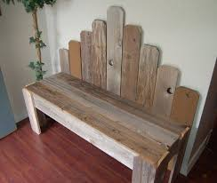 Country Benches Made With Old Boards