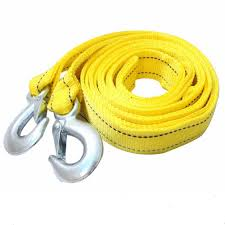 100 Tow Ropes For Trucks Amazoncom AIJIWU Car Rope Straps With Hooks5 Tons 4 Meters